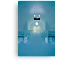 Ice church Canvas Print