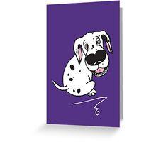 Dali Dot Greeting Card