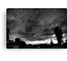 Storm over Perth Canvas Print