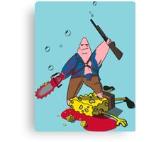 Ashtrick SpongiteHunter Canvas Print