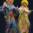 A Couple of Clowns - Ficifolia Festival, Drouin by Bev Pascoe
