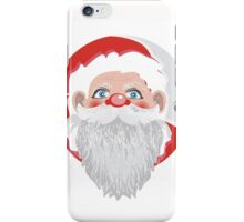 portrait of santa iPhone Case/Skin