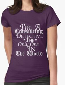 A Study In Quotes Womens Fitted T-Shirt