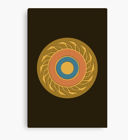 The Eye of Jupiter Canvas Print