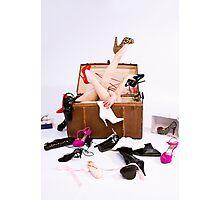 Shoe Addiction Photographic Print