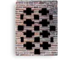 *Missing links Canvas Print