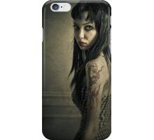 Gothic self portrait iPhone Case/Skin