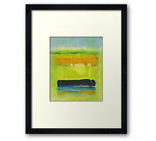 'Canola Season-Willaura'  Framed Print