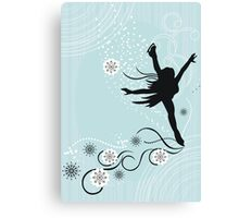 ice skater  Canvas Print