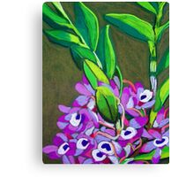 Wild orchids Canvas Print
