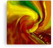 Life flowing - Abstract-wall art+Product Design Canvas Print
