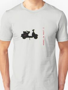 I love my vespa II - T-shirt T-Shirt