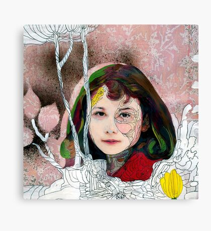 portrait of Gracie::no.3 Canvas Print