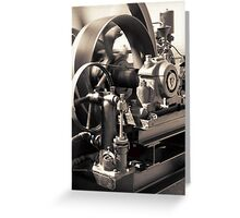Swiftness of Wheels Greeting Card