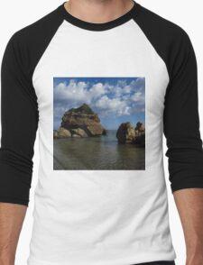 Rock Formation, Porto Zorro Men's Baseball ¾ T-Shirt