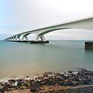Zealand Bridge, different....  by Adri  Padmos