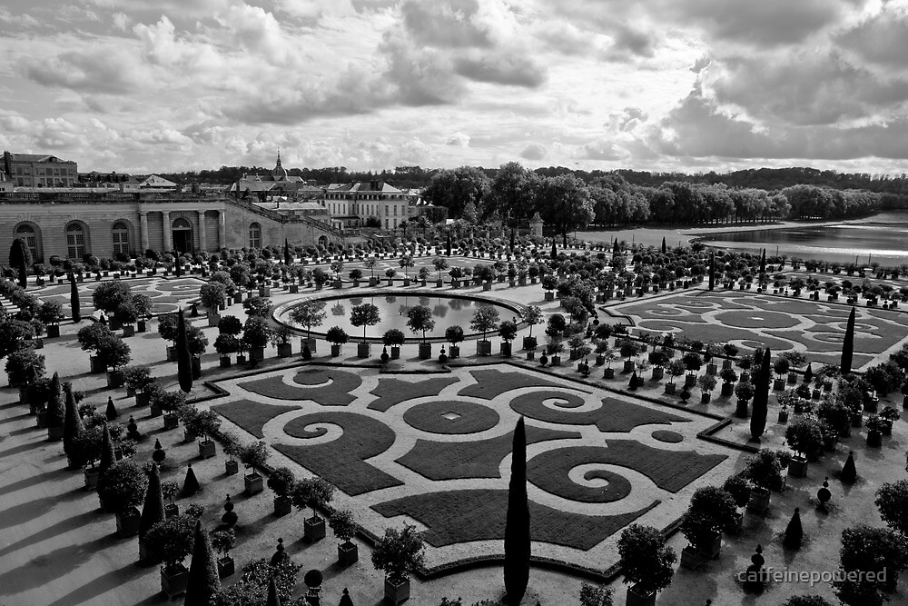 Gardens of Versailles by caffeinepowered