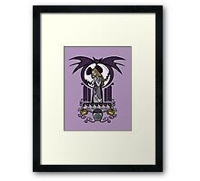 Nightmare Nouveau Framed Print