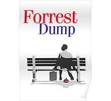 Forrest dump Poster