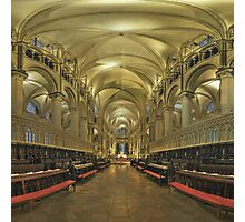 Canterbury Cathedral Choir 2 Photographic Print