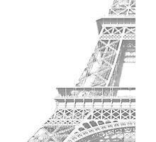 hint of eifel  Photographic Print