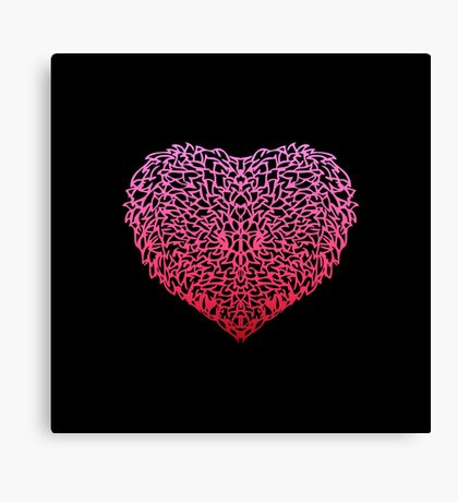Pink Love Canvas Print