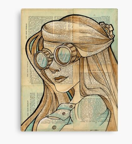 The Iron Woman 1 Canvas Print