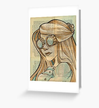 The Iron Woman 1 Greeting Card