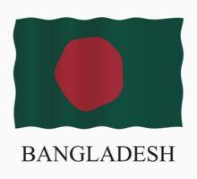 Bangladesh flag Kids Tee