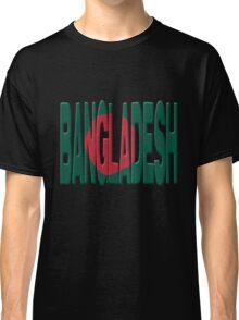 Bangladesh flag Classic T-Shirt