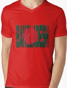 Bangladesh flag Mens V-Neck T-Shirt