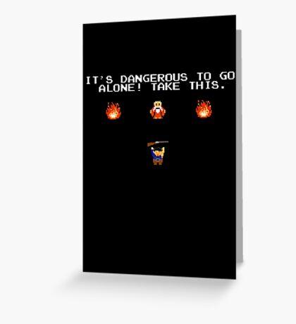 Evil Dead - Boomstick Greeting Card