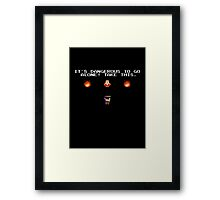 Evil dead - Chainsaw Framed Print