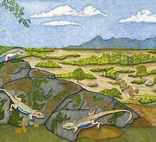 Little Lizards by Judy Newcomb