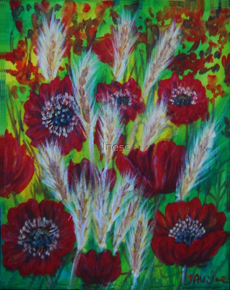 flowers of passion by Inese