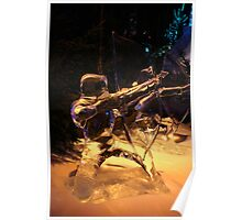 Frozen archer Poster