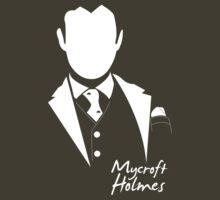 Mycroft Tee Holmes by KitsuneDesigns
