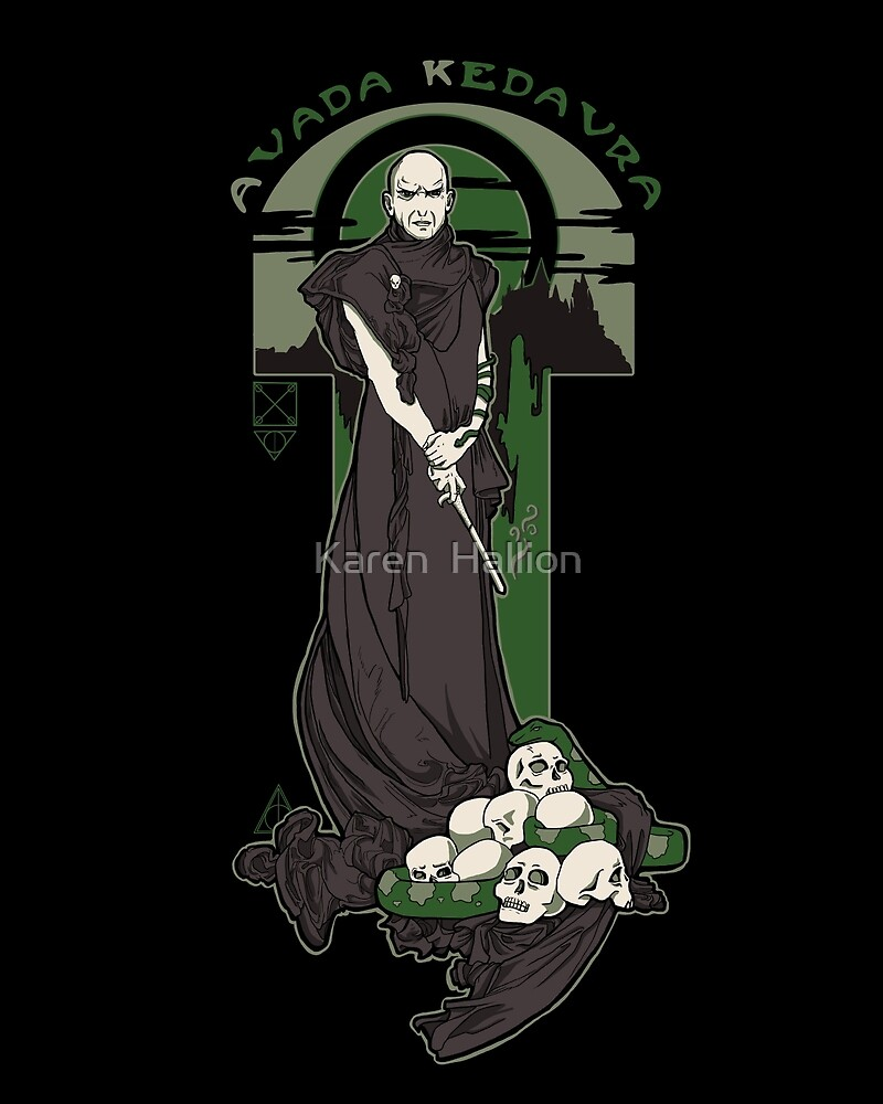 Voldemort Nouveau (Revised) by Karen  Hallion
