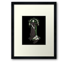 Voldemort Nouveau (Revised) Framed Print