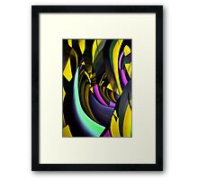 IN THE BEGINNING - Chaos 2.0 Framed Print