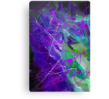 4th Symphony of the voyage of the Stars 1.0 Canvas Print
