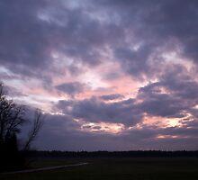 Moody sky by Ian Middleton