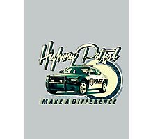 Highway Patrol v2 Photographic Print