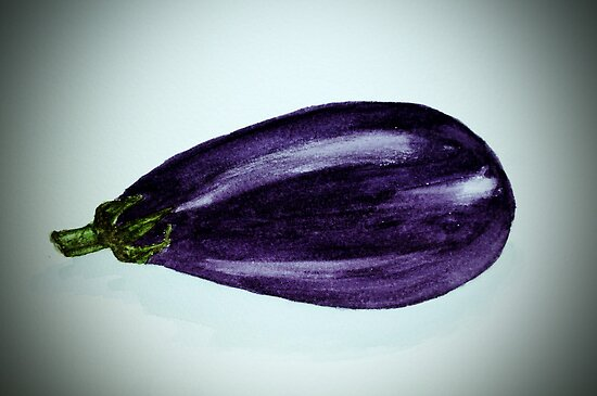 Aubergine by Marilyn O'Loughlin