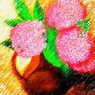 Maybe hydrangeas... by Madalena Lobao-Tello