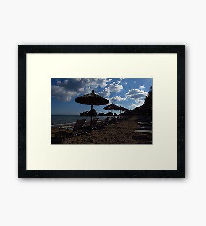 Porto Zorro Beach, Zakynthos Framed Print