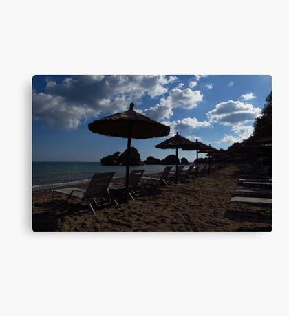 Porto Zorro Beach, Zakynthos Canvas Print