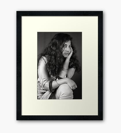 Look Into My Eyes-4 Framed Print