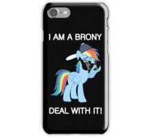 Rainbow Dash Brony iPhone Case/Skin