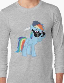 Rainbow Dash Style no text Long Sleeve T-Shirt